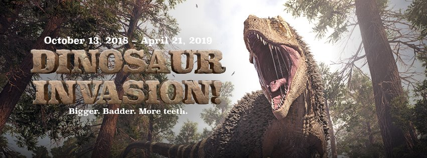 Dinosaur Invasion - Family Friendly Exhibit For Kids