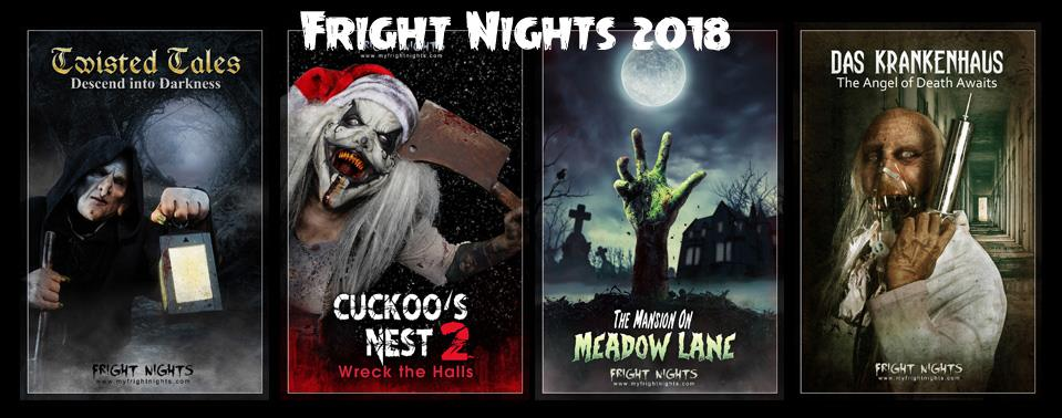 2018 Halloween Fright Nights Event